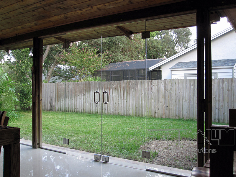 Your New Frameless Patio Door Will Be The Talk Of Party