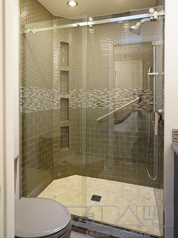 Frameless Shower Enclosures Orlando, Bathroom Shower Doors, Shower ...
