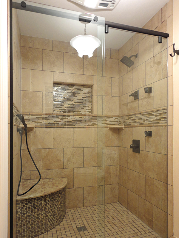 Frameless Shower Enclosures Orlando, Bathroom Shower Doors, Shower ...